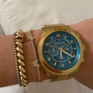 Michael Kors Hunger Stop Turquoise Watch